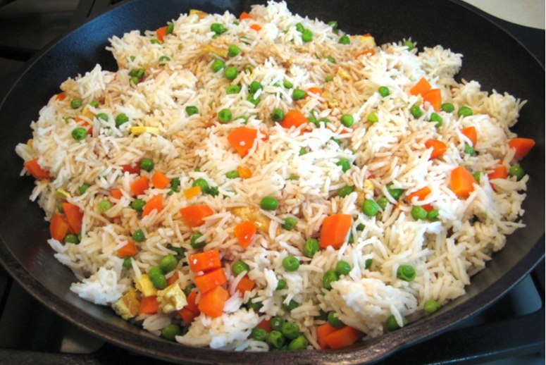Asian Chicken Vegetable fried rice