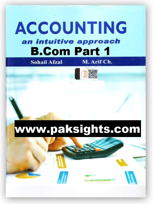 financial accounting m arif sohail afzal pdf free download b.com part 1 punjab university