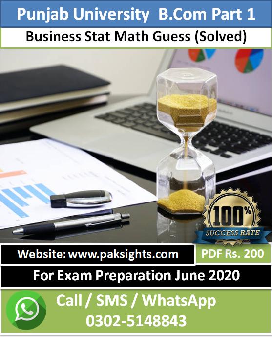 Business Stat Math